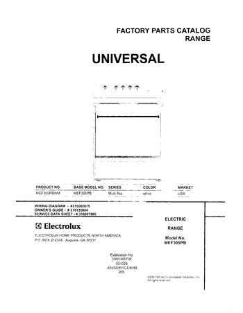 Diagram for MEF305PBWM