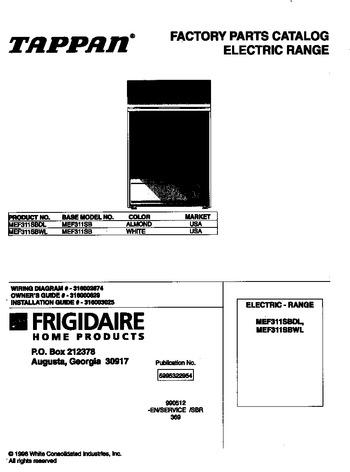 Diagram for MEF311SBWL