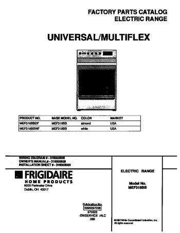 Diagram for MEF318BBWF