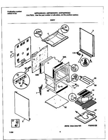 Diagram for MEF322BGWC