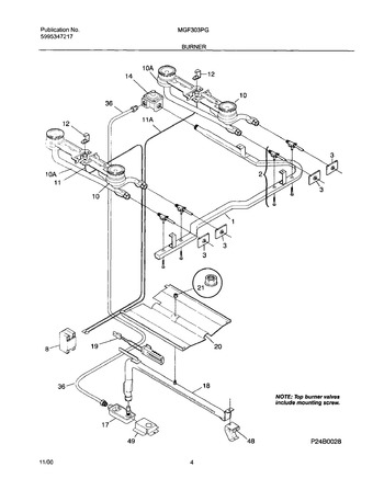 Diagram for MGF303PGWG