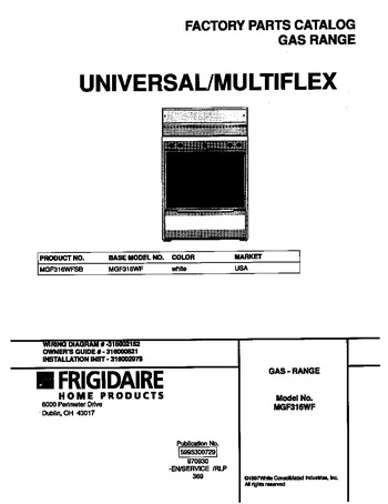 Diagram for MGF316WFSB