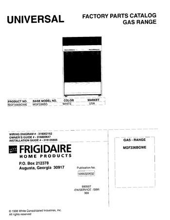 Diagram for MGF336BGWE