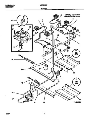 Diagram for MGF354BFDA