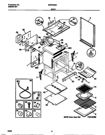 Diagram for MGF355BEDB