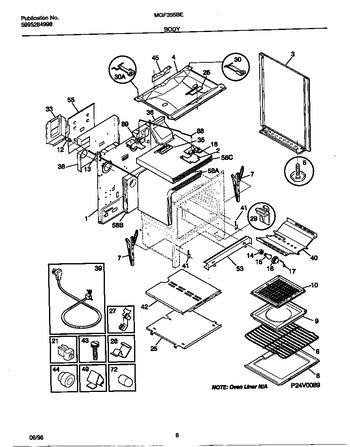 Diagram for MGF355BEWC
