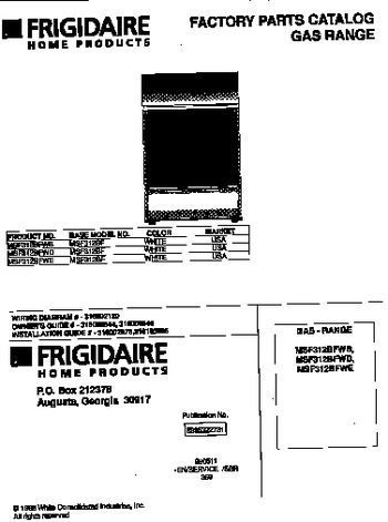 Diagram for MSF312BFWD