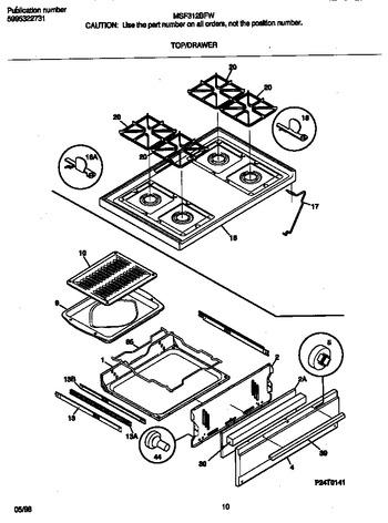 Diagram for MSF312BFWE
