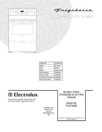 Diagram for PLEF398CCD