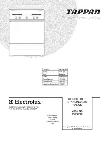Diagram for TGF303BWC