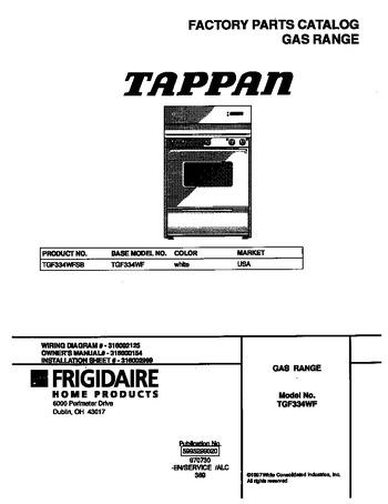 Diagram for TGF334WFSB