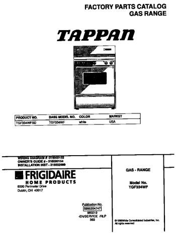 Diagram for TGF334WFSD