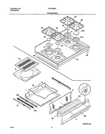 Diagram for TGF336CHSE