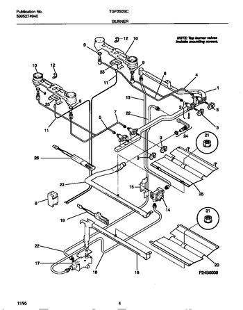 Diagram for TGF350SCWB