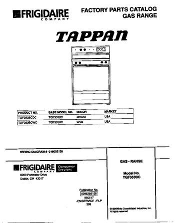 Diagram for TGF353BCWC