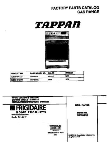 Diagram for TGF354SCWD