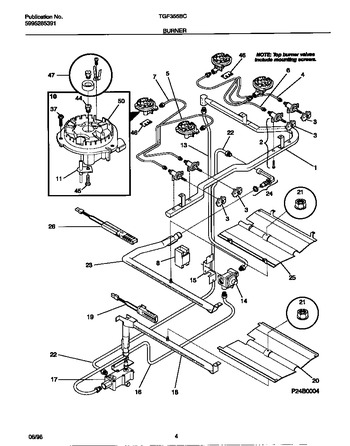 Diagram for TGF355BCDC