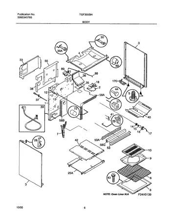 Diagram for TGF355BHWF