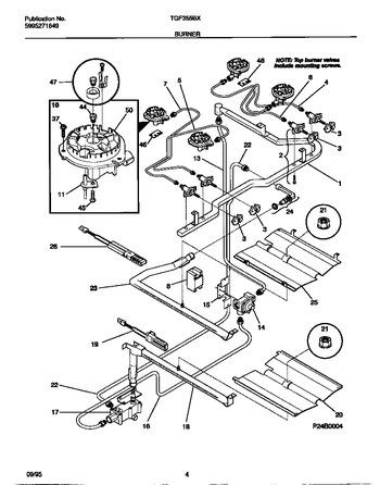 Diagram for TGF355BXWA