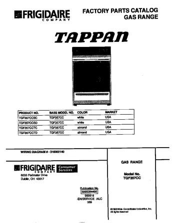 Diagram for TGF357CCTC