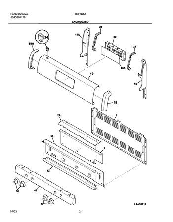 Diagram for TGF364ASE