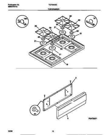 Diagram for TGF364SCWA