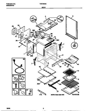 Diagram for TGF365BEWA