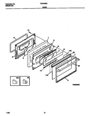 Diagram for TGF365BEWB