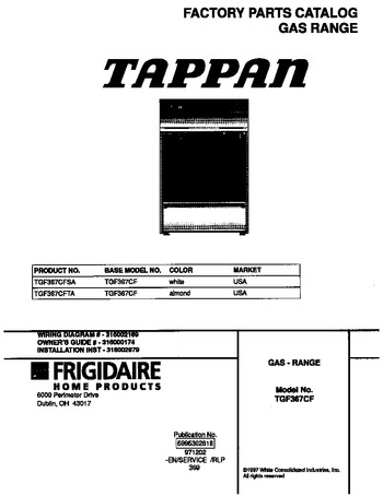 Diagram for TGF367CFSA