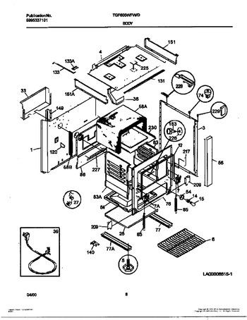 Diagram for TGF605WFW7
