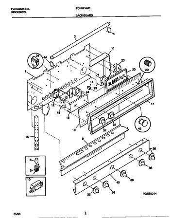 Diagram for TGF645WCD2