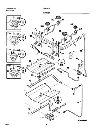 Diagram for TGFS63CSA