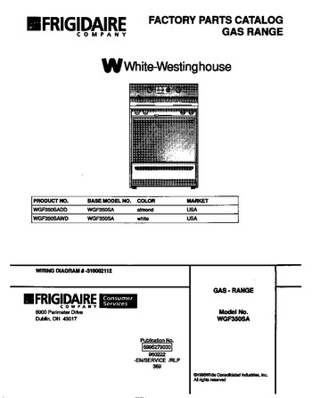 Diagram for WGF350SADD