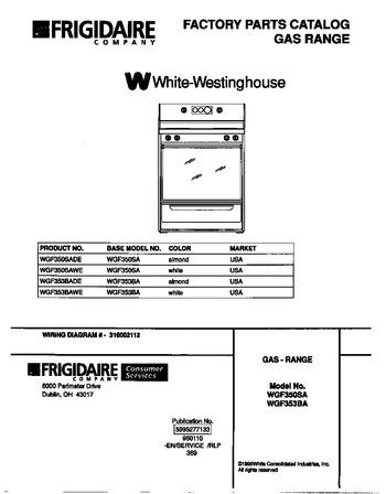 Diagram for WGF353BAWE