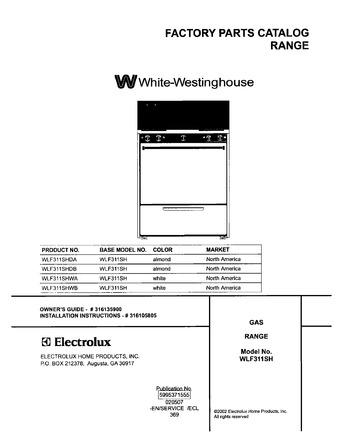Diagram for WLF311SHDA