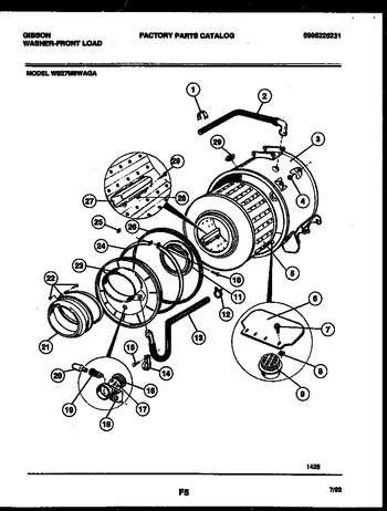 Diagram for WS27M8WAGA