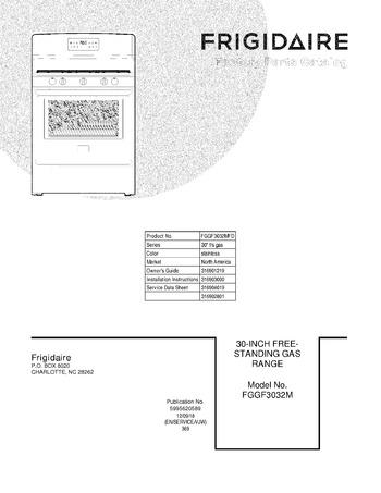 Diagram for FGGF3032MFD