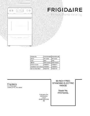 Diagram for FFEF3015LBB