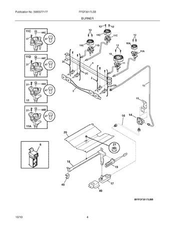 Diagram for FFGF3017LSB