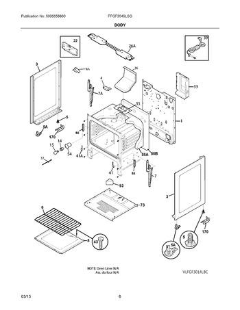 Diagram for FFGF3049LSG