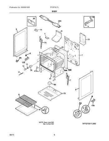 Diagram for FFGF3017LWF