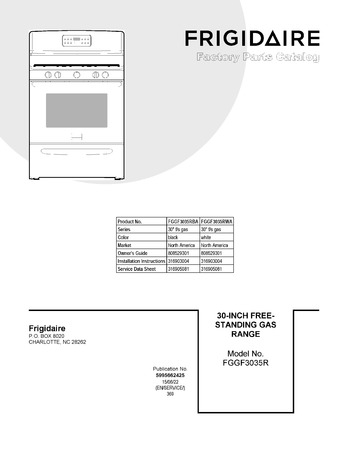 Diagram for FGGF3035RBA