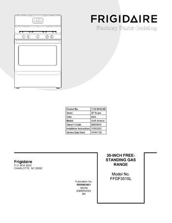 Diagram for FFGF3019LBB