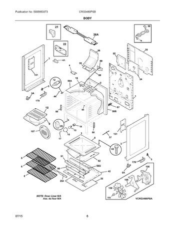 Diagram for CRG3480PSB