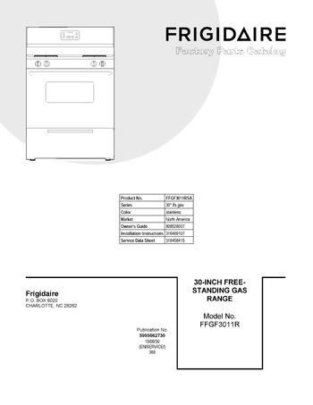 Diagram for FFGF3011RSA