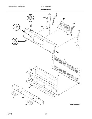 Diagram for FFGF3024RWA