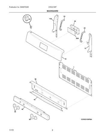 Diagram for CRG3150PBC