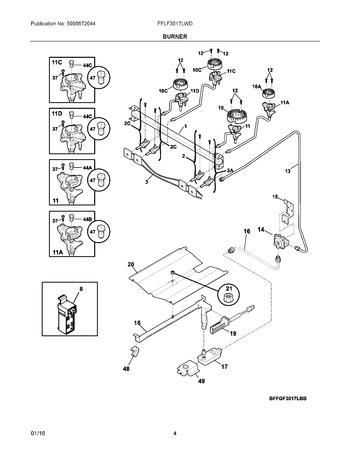 Diagram for FFLF3017LWD