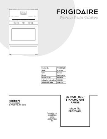 Diagram for FFGF3049LSJ