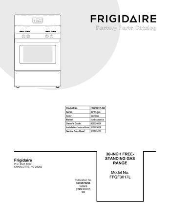 Diagram for FFGF3017LSG